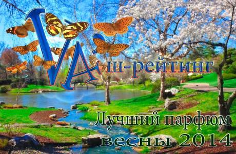 рейтинг парфюмерии весна 2014