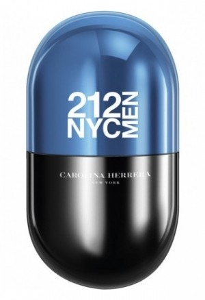 212 NYC Men Pills edp Carolina Herrera - ♂ мужской парфюм, 2016 год.