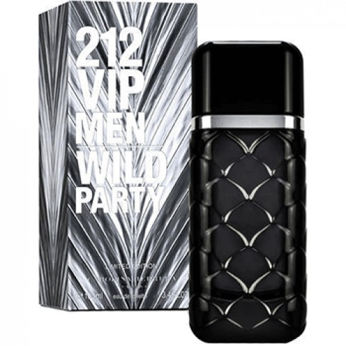Изображение парфюма Carolina Herrera 212 VIP Men Wild Party edt