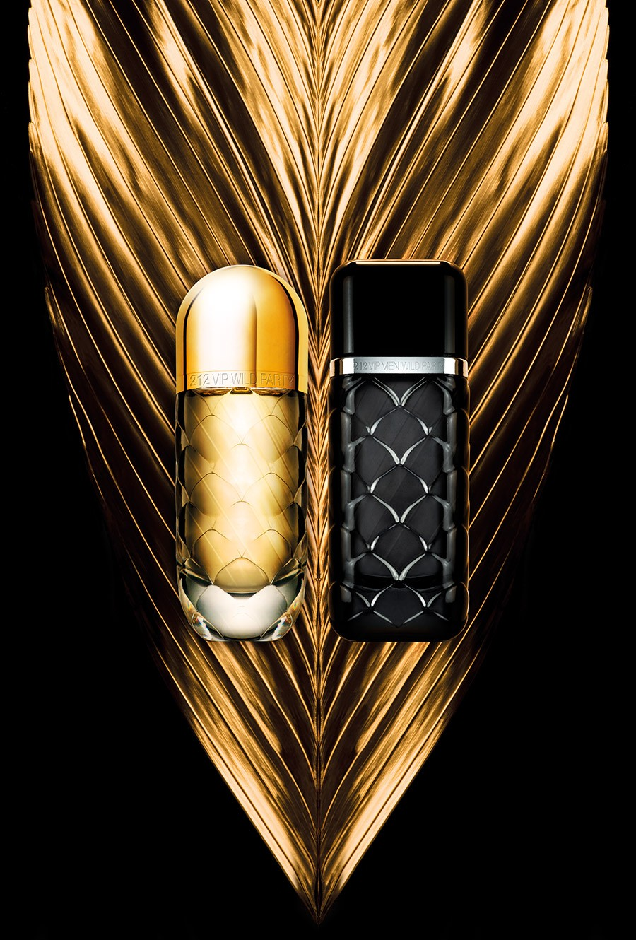 212 VIP Wild Party edt Carolina Herrera - ♀ женский парфюм, 2016 год.