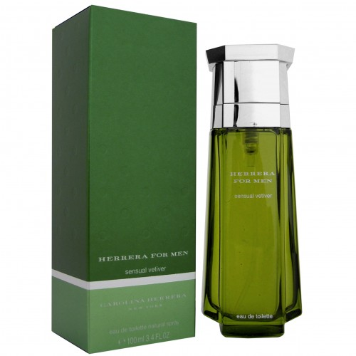 Изображение парфюма Carolina Herrera Herrera for Men Sensual Vetiver