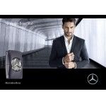 Реклама Man Grey edt Mercedes-Benz