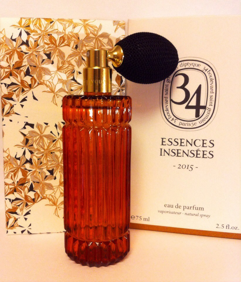 Essences Insensees 2015 Diptyque - ♀♂ унисекс парфюм, 2015 год.