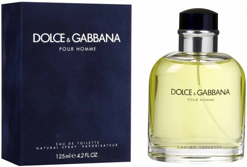 Изображение парфюма Dolce and Gabbana D&G Pour Homme 2012