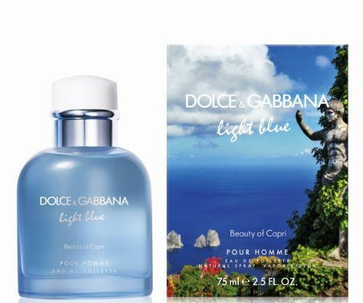 Изображение парфюма Dolce and Gabbana Light Blue Beauty of Capri