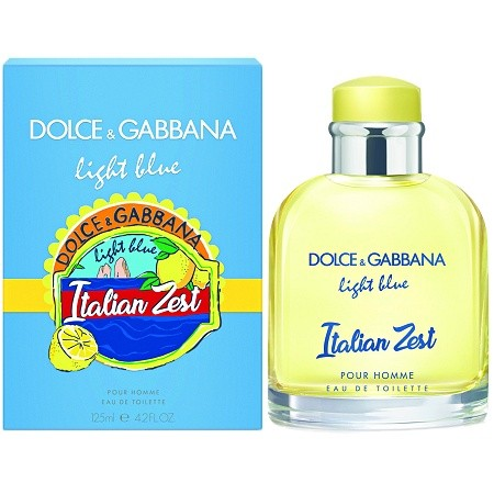Изображение парфюма Dolce and Gabbana Light Blue Italian Zest Pour Homme