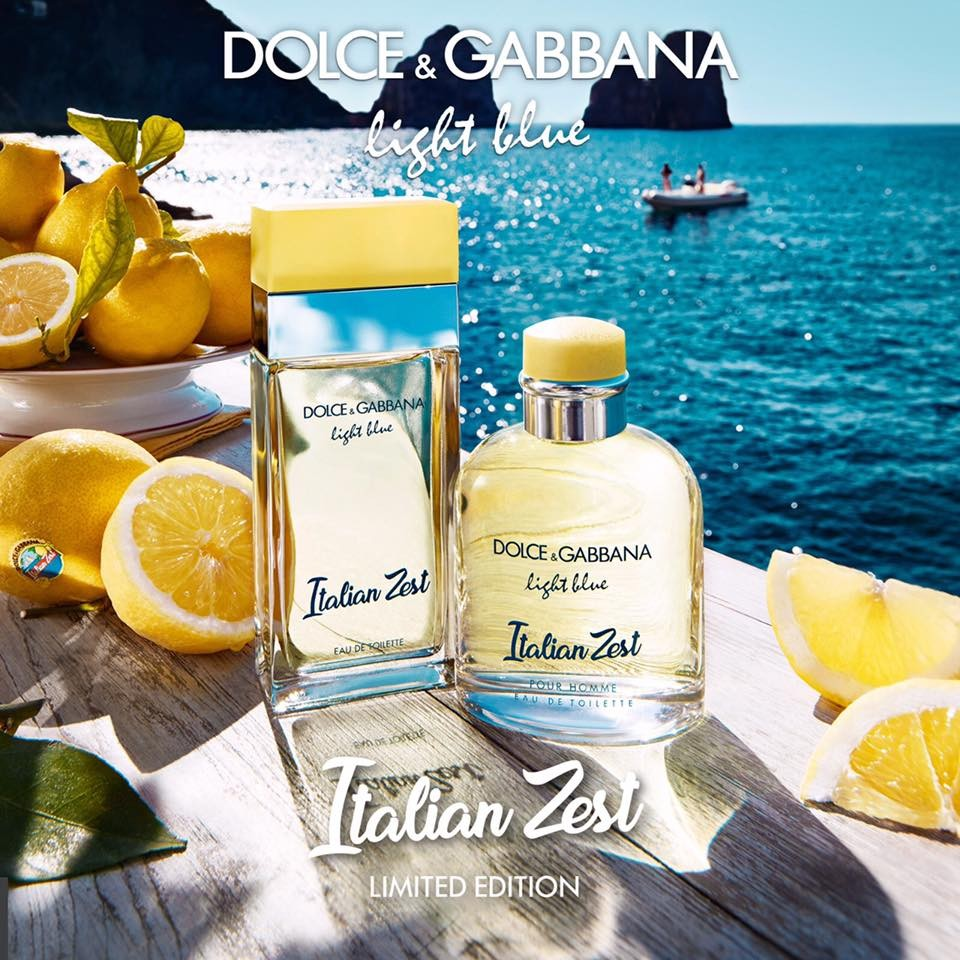Dolce and Gabbana Light Blue Italian Zest Pour Homme