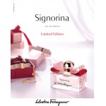 Реклама Signorina Limited Edition Salvatore Ferragamo