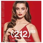 Реклама 212 VIP Rose Red Carolina Herrera