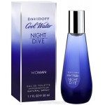Картинка номер 3 Cool Water Night Dive Woman от Davidoff