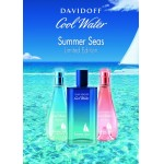 Реклама Cool Water Woman Summer Seas Davidoff
