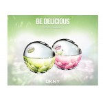 Реклама Be Delicious Fresh Blossom Crystallized DKNY