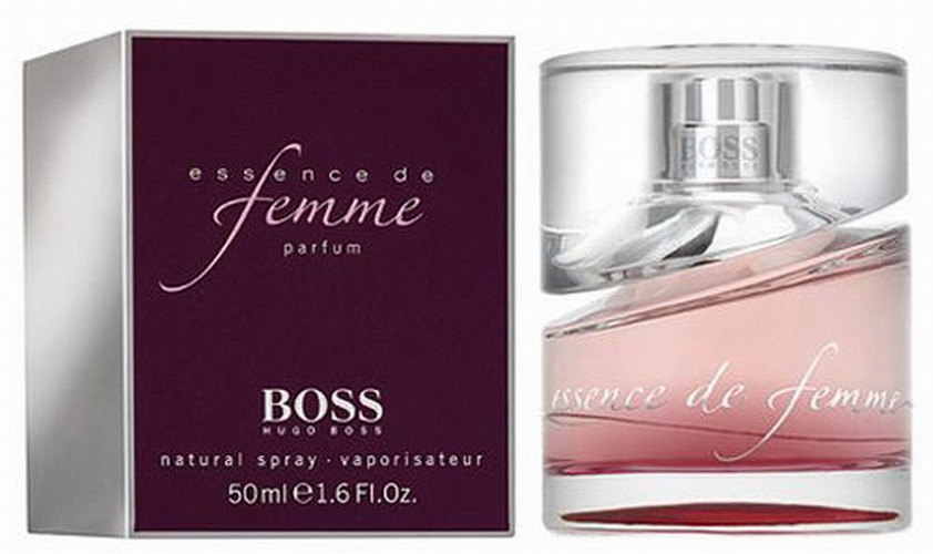 boss essence de femme w 50ml edp hugo boss 2007. Black Bedroom Furniture Sets. Home Design Ideas