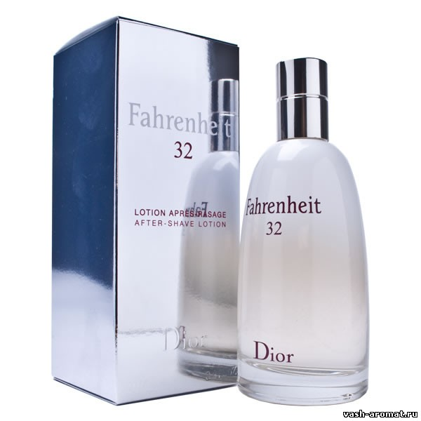 Fahrenheit 32 Christian Dior парфюм для мужчин 2007 год