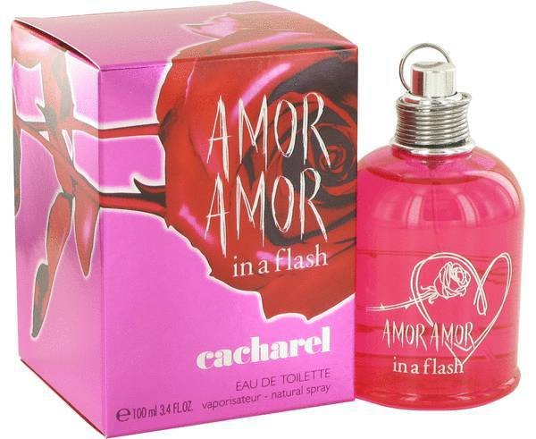 Amor Amor In a Flash edt Cacharel - ♀ женский парфюм, 2013 год.
