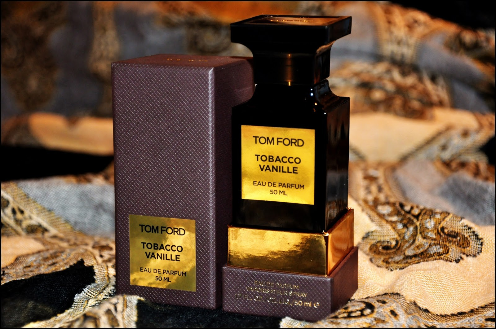 Tobacco Vanille 50ml edp Tom Ford - ♀♂ унисекс парфюм, 2007 год.