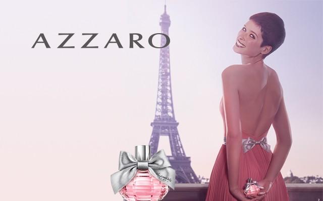 Хлоя Франсуа в рекламе Аззаро