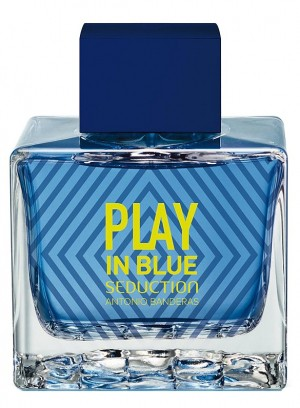 Изображение парфюма Antonio Banderas Play In Blue Seduction For Men edt