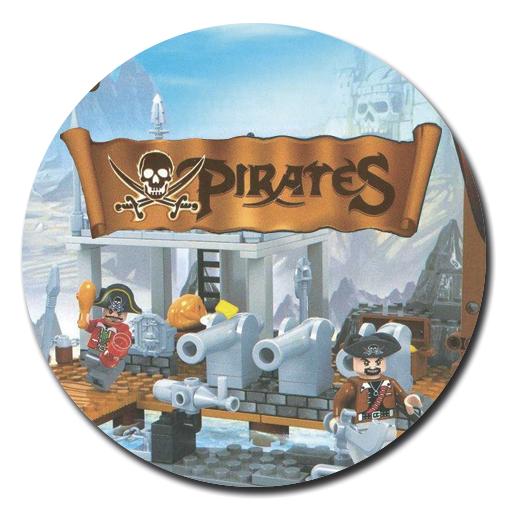 конструкторы Пираты