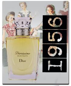 Купить оригинальный парфюм DIORISSIMO от Christian Dior - 1956 год