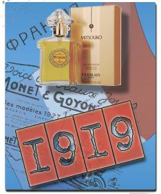 Купить оригинальный парфюм Mitsouko от Guerlain - 1919 год