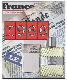 Купить оригинальный парфюм EAU SAUVAGE от Christian Dior - 1966 год